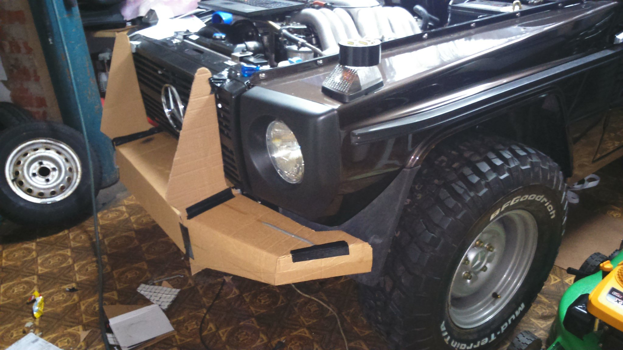 My G Build: 1984 W460 Swb 230ge To Om606 | Mercedes4x4 Forum